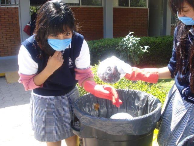 Protegete bien al recolectar basura organica e inorganica