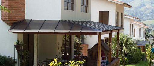 techo de policarbonato terrazas