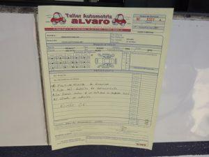¿Qué es una orden de servicio automotriz?